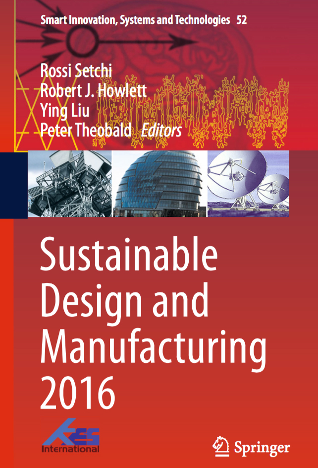 12-to-Many: Dal Bosco alla 3rd International Conference on Sustainable Design and Manufacturing